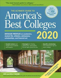 The Ultimate Guide to America's Best Colleges, 2020, book cover