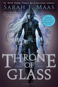 Trono de cristal, portada del libro
