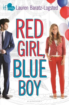 Red Girl, Blue Boy, book cover