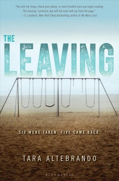 The Leaving, book cover