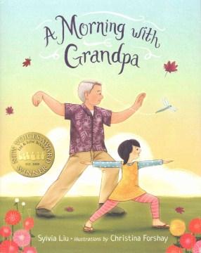 A Morning With Grandpa, portada del libro