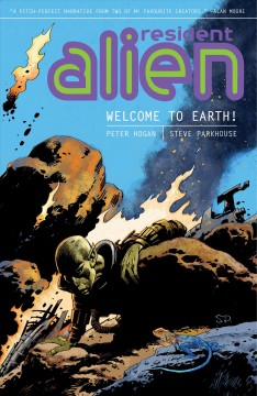 Resident Alien: Welcome to Earth!, book cover