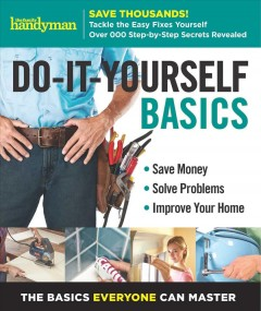 Do-it Yourself Basics: Save Money, Solve Problems, Improve your Home: the Basics Everyone Can Master, book cover
