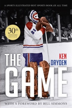The Game by Ken Dryden, book cover
