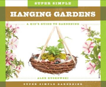 Jardines colgantes súper simples, portada de libro