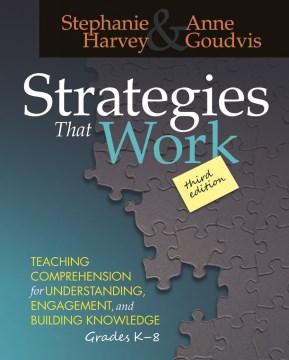 Estrategias que funcionan, portada del libro
