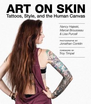 Art on Skin, book cover