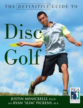 La guía definitiva del disc golf, portada del libro