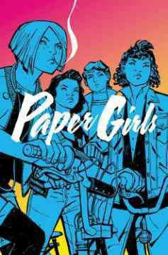 Paper Girls, book cover