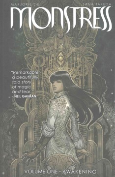 Monstress, book cover