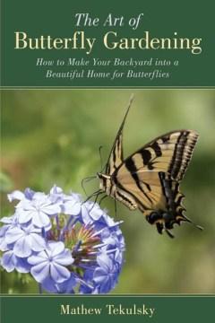 El arte de la jardinería de mariposas, portada del libro