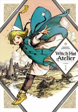 Witch Hat Atelier, portada del libro