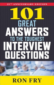 101 Great Answers to the Toughest Interview Questions, book cover