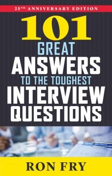 101 grandes respuestas a las preguntas más difíciles de la entrevista, portada del libro