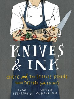 Knives and Ink, book cover