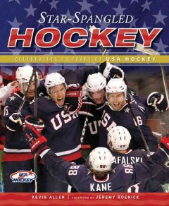 Star-Spangled Hockey by Kevin Allen, book cover