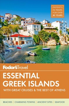 Fodor's Travel Essential Greek Islands, con lo mejor de Atenas, portada del libro