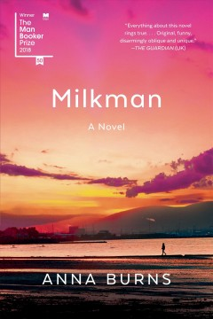 Milkman by Anna Burns, book cover