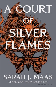 A court of silver flames by Sarah J. Maas.