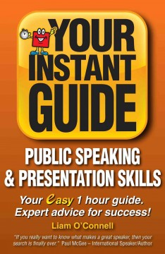 Instant Guides : Public Speaking and Presentation Skills, book cover