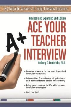 Entrevista de Ace Your Teacher, portada del libro