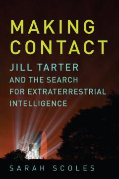 Hacer contacto con Jill Tarter y la búsqueda de inteligencia extraterrestre, portada del libro