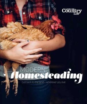Modern Homesteading, book cover