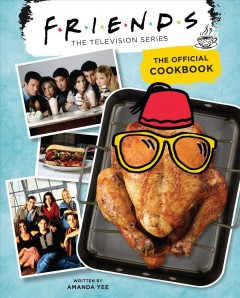 Friends The Official Cookbook, book cover