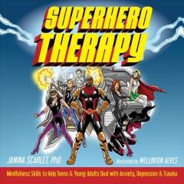 Superhero Therapy, book cover