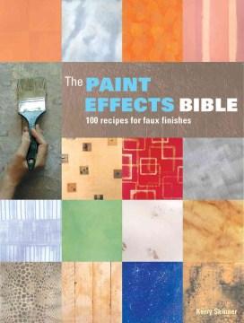 La Biblia de efectos de pintura, portada del libro