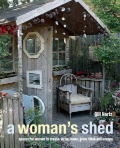 A Woman's Shed, book cover