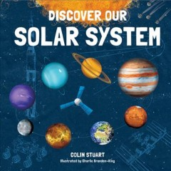 Discover our solar system, book cover