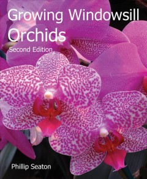 Cultivo de orquídeas en el alféizar de la ventana, portada del libro