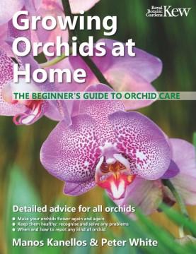Cultivo de orquídeas en casa, portada del libro