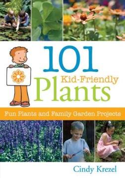 101 plantas aptas para niños, portada de libro