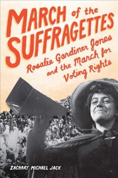 March of the Suffragettes, book cover