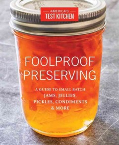 Foolproof Preserving, book cover