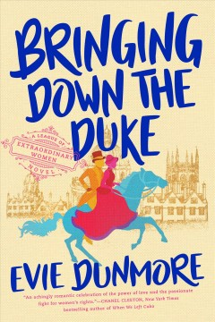 Bringing Down the Duke by Evie Dunmore, book cover