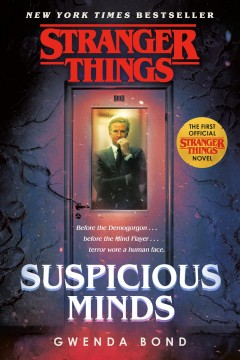Stranger Things: Suspicious Minds (prequel book), book cover