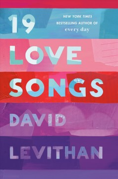 19 Love Songs, book cover