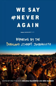 We Say #Never Again, book cover