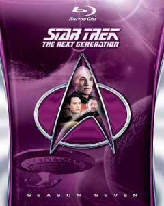 Star Trek: the Next Generation, Season 7, book cover