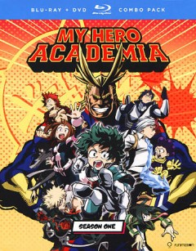 My Hero Academia, book cover