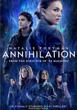 Annihilation, bìa sách