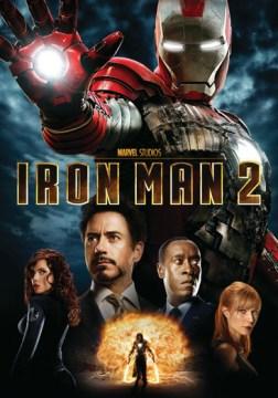 Iron Man 2 DVD cover
