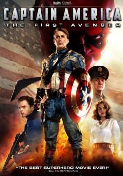 Captain America: The First Avenger DVD cover
