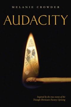 portada del libro, Audacity, de Melanie Crowder