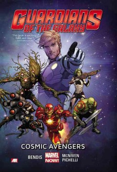 Guardians of the Galaxy: Cosmic Avengers book cover