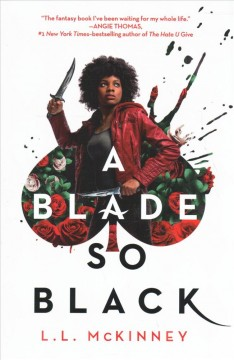 A Blade So Black book cover