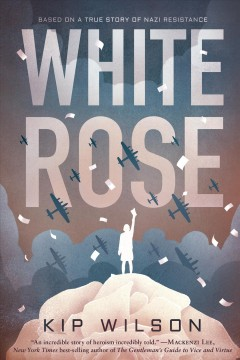 Book Cover, White Rose, by Kip Wilson